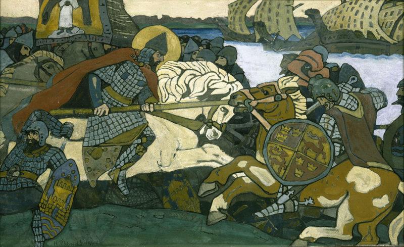 La cosmovisión de Nikolái Roerich en la Colección de Arte Ruso de Málaga
