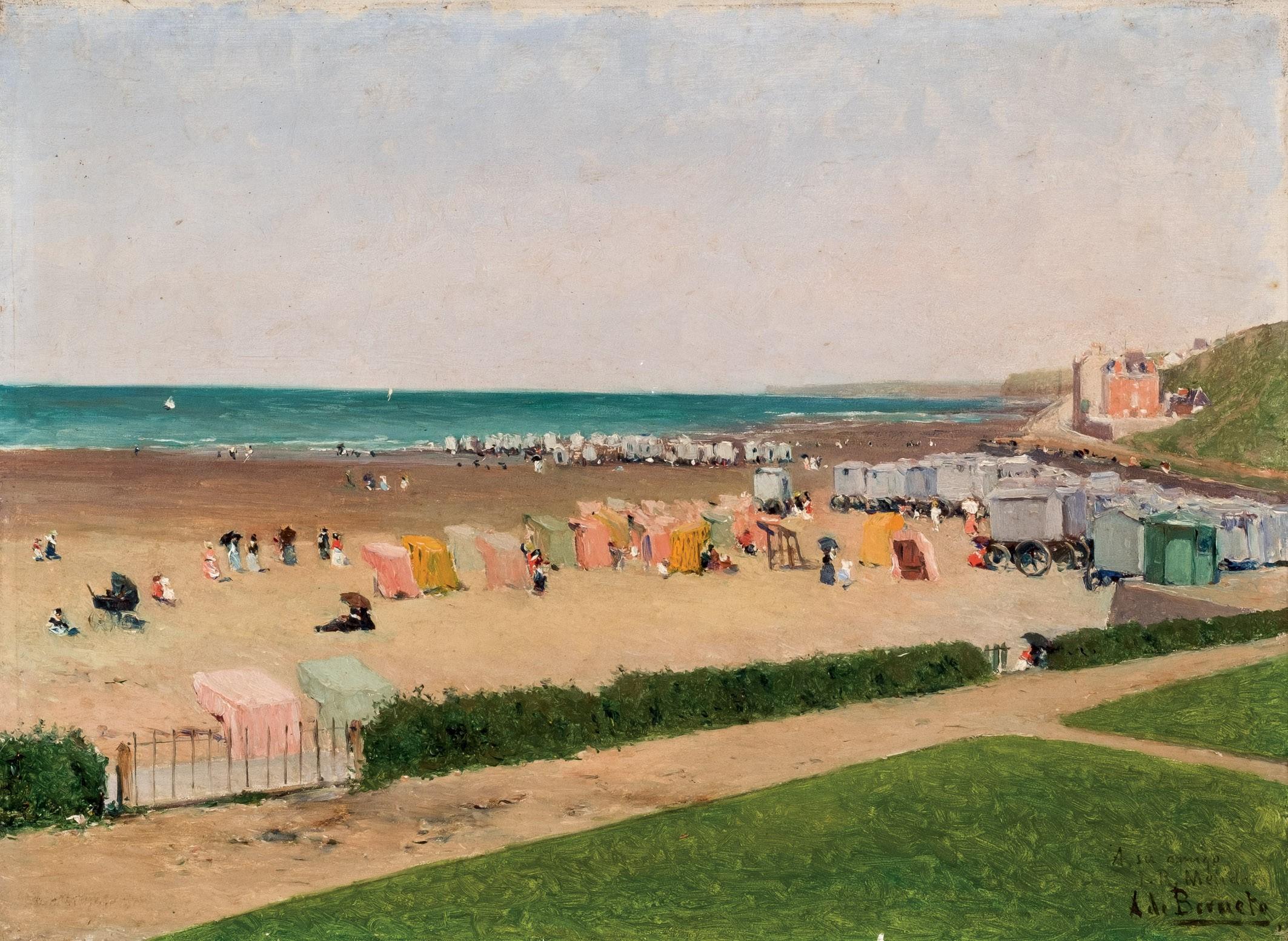 Aureliano de Beruete. Playa. Salida: 3.500 euros. Remate: 27.500 euros