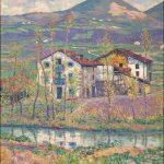 Darío de Regoyos. Yurreta. Printemps Basque, 1907. Salida y remate: 65.000 euros