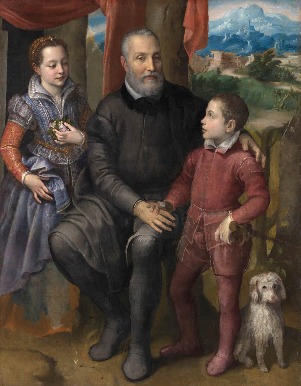 sofonisba-retrato-familia