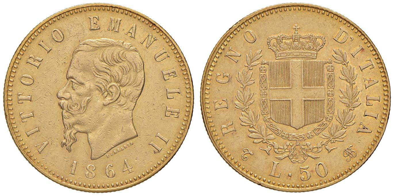 50-liras-de-vctor-manuel.-1864.-rematada-en-180.000-euro.-nomisma