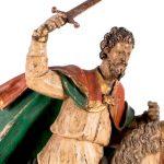 Una escultura de Santiago Matamoros, lo más sobresaliente de la subasta de Duran