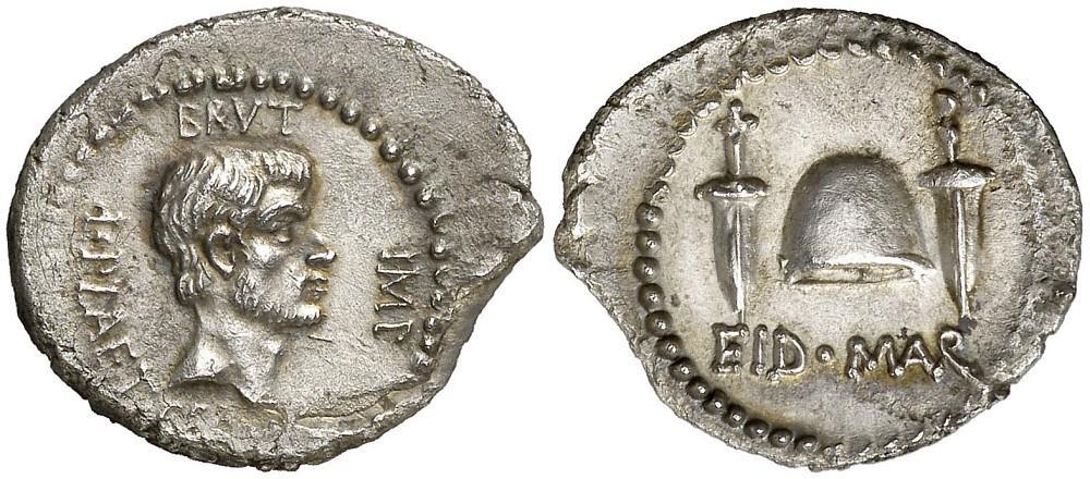 denario-de-bruto-idus-de-marzo.-salida-50.000-euro.-aureocalico