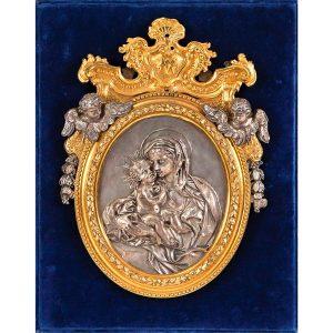 315-virgen-con-el-nio-atribuido-a-filippo-galassi.-placa-en-plata-con-marco-de-bronce-al-mercurio-c.1750.01