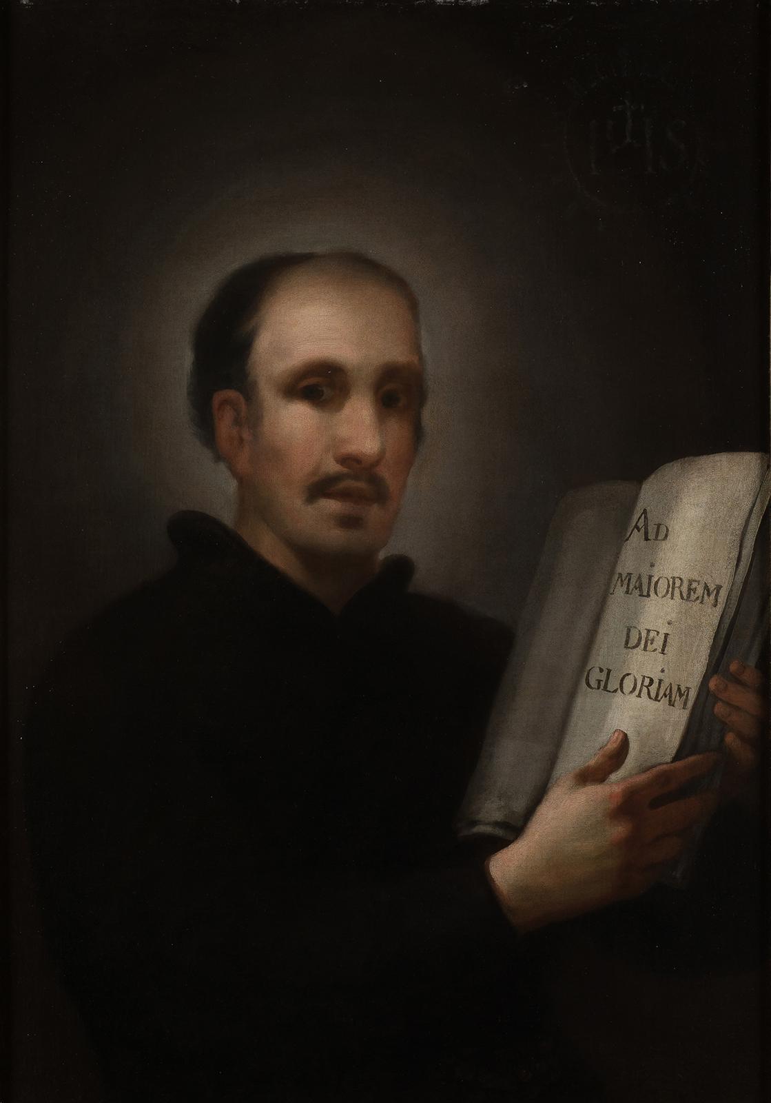 Francisco de Goya. San Ignacio de Loyola, c. 1775. Estimación: 600.000 a 800.000 euros. Ansorena