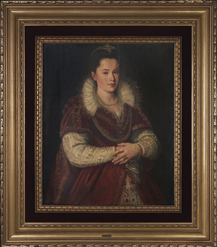 Santi di Tito. Retrato de Leonora Orsini, c. 1592. Salida: 50.000 euros. Remate: 55.000 euros