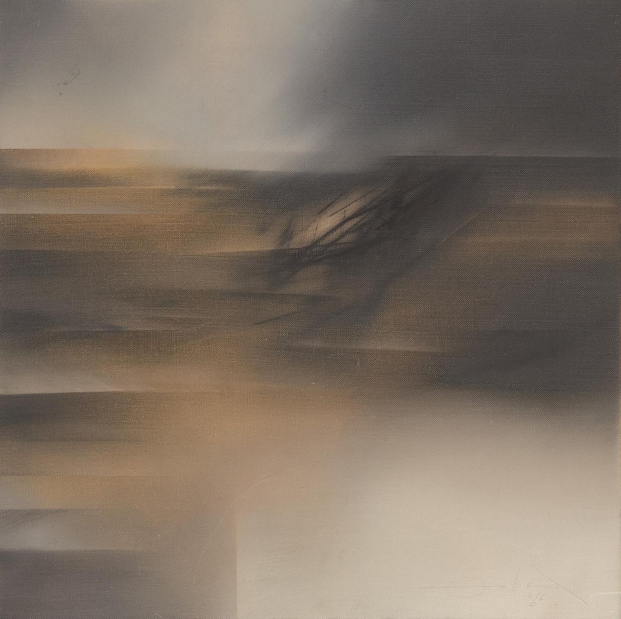 Fernando Zóbel. Transparente por la ventanilla, 1966. Salida: 36.000 euros. Remate: 75.000 euros