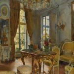 Luis Jiménez Aranda. Un salón Luis XVI, 1913. Salida: 5.000 euros. No vendido