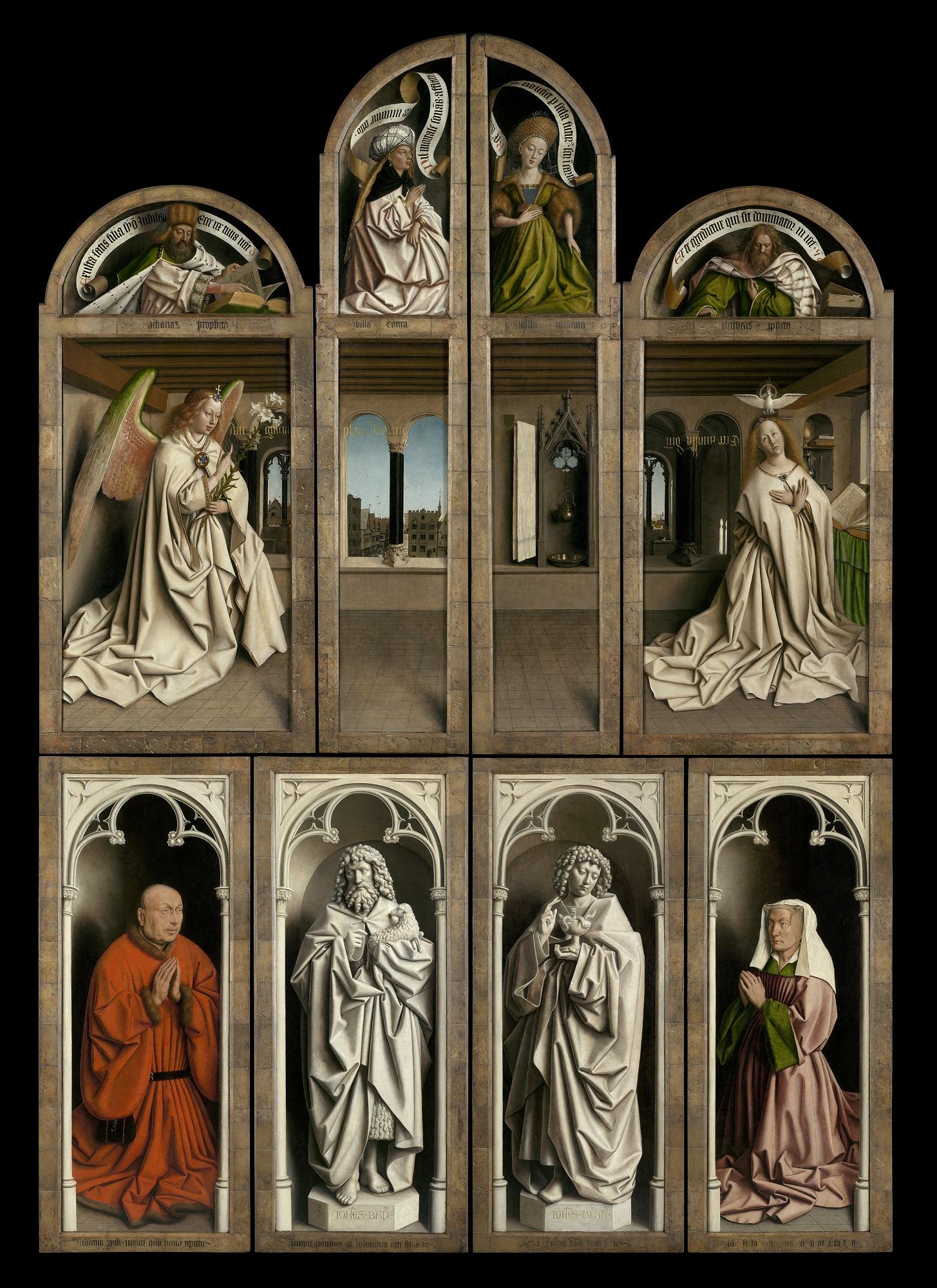 Van Eyck como nunca se verá