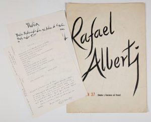 153.1-poema-cancin-37-baladas-y-canciones-del-paran-sobre-dptico-de-gran-tamao-impreso-con-tipografa-que-parece-manuscrita-.-est-dedicado-a-delia-del-carril-la-segunda-mujer-de-pablo-neruda-1963.