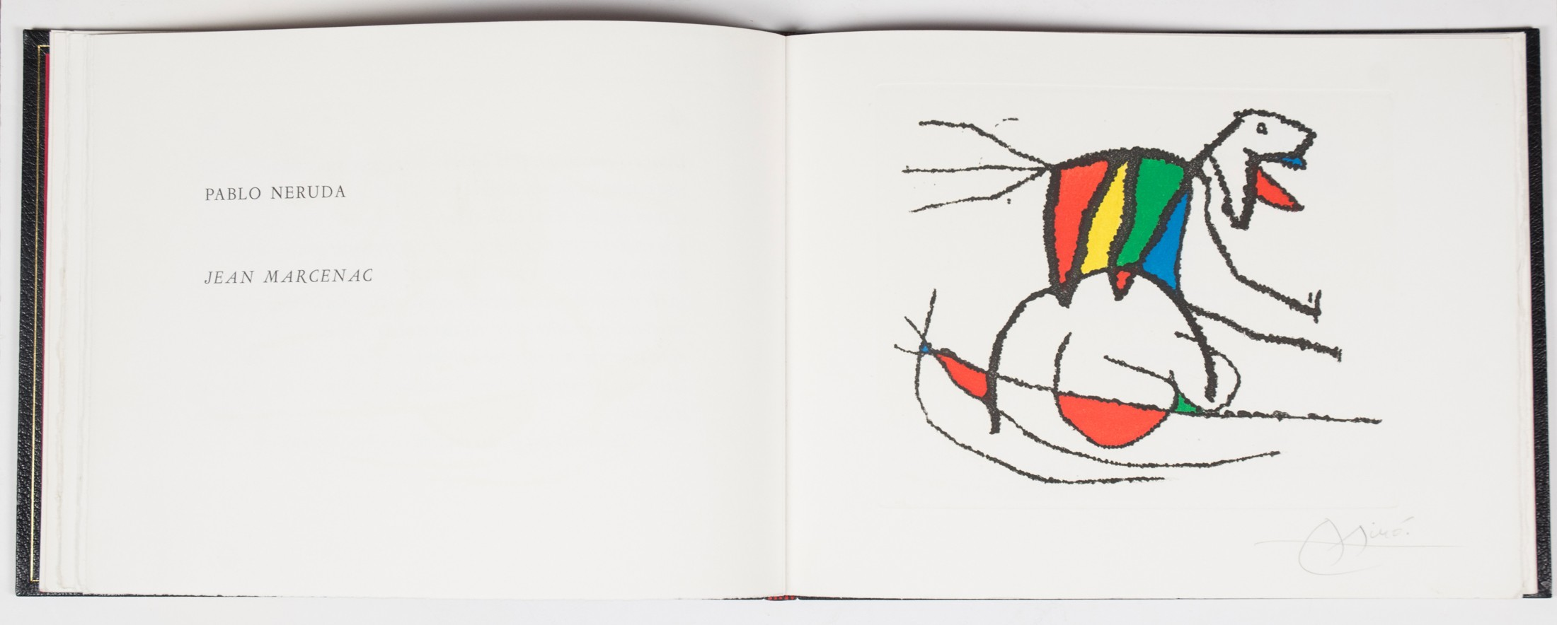 98.7-neruda-pablo-y-joan-mir-el-sobreviviente-visita-los-pjaros.-libro-de-artista-con-grabados-originales-de-mir.-1-edicin.-00