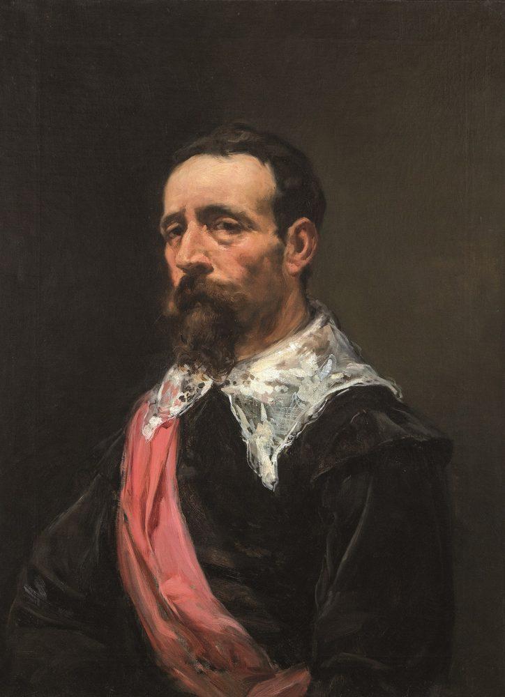 Joaquín Sorolla. Caballero con banda, 1882. Salida: 95.000 euros. No vendido. Comprado por el Estado para el Museo Sorolla