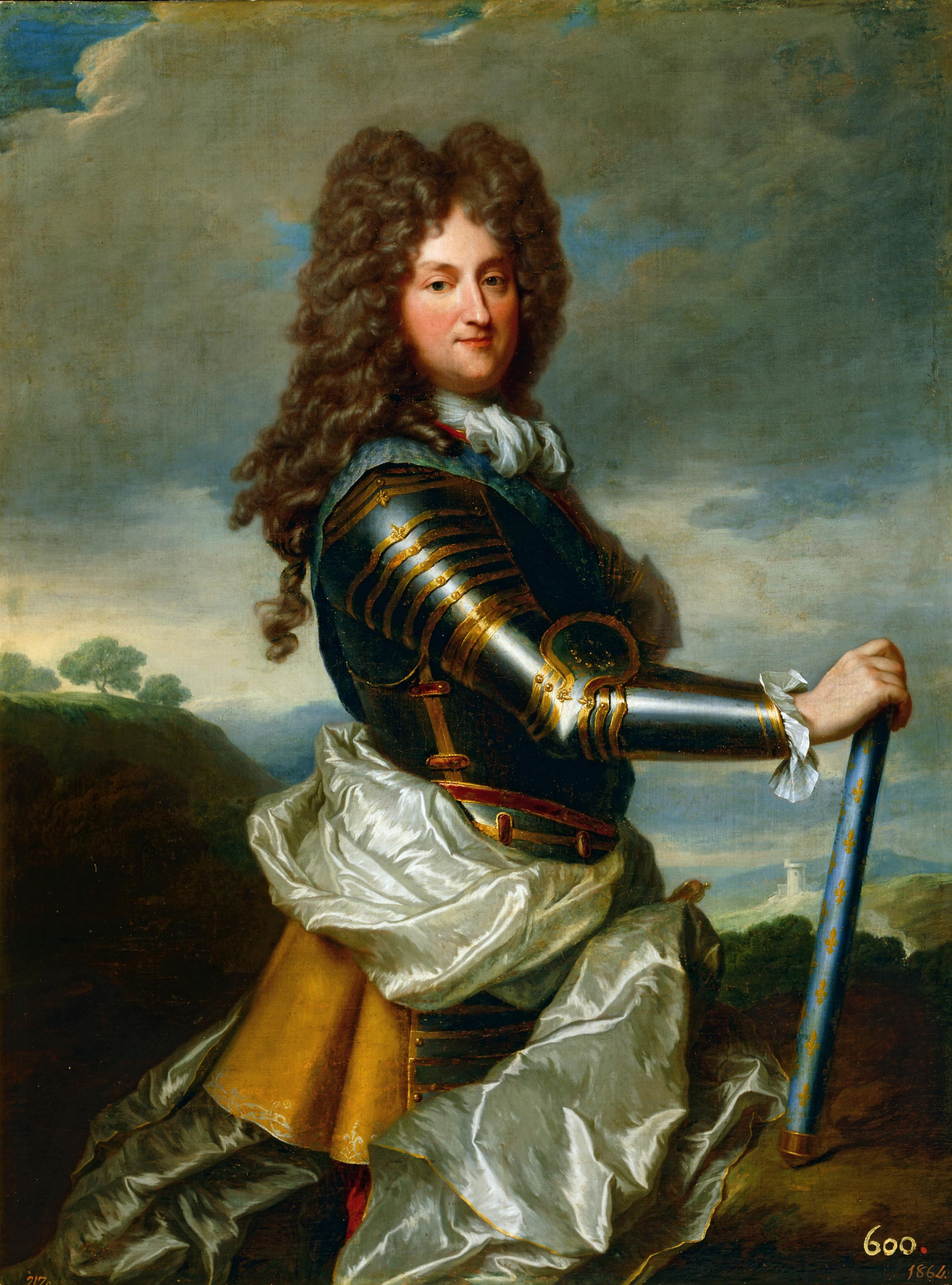 Philippe d'Orléans, Regent / Gemälde von Santerre