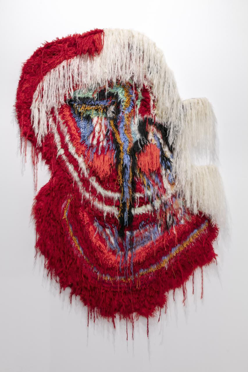 titulo–pasodoble-tecnica-hand-tufted-wool-artista-caroline-achaintre-galeria-arcade