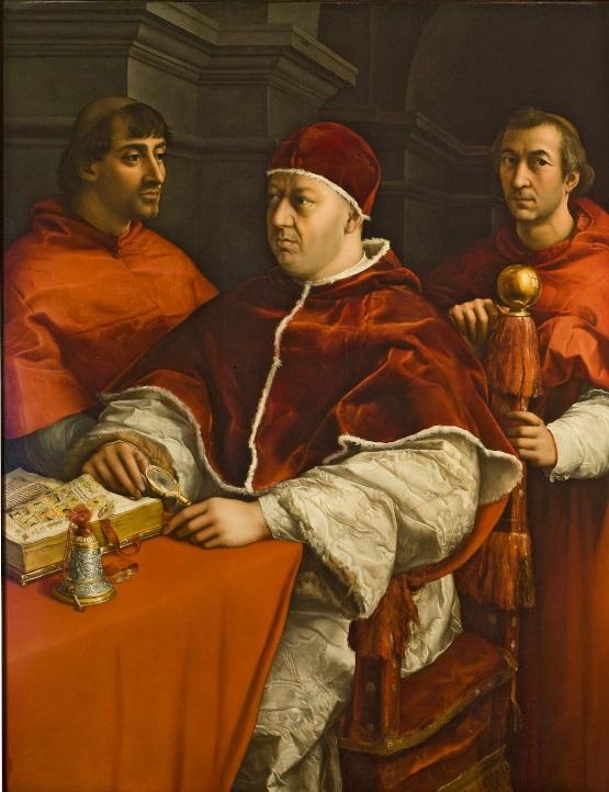 retrato-papa-leon-x-y-cardenales