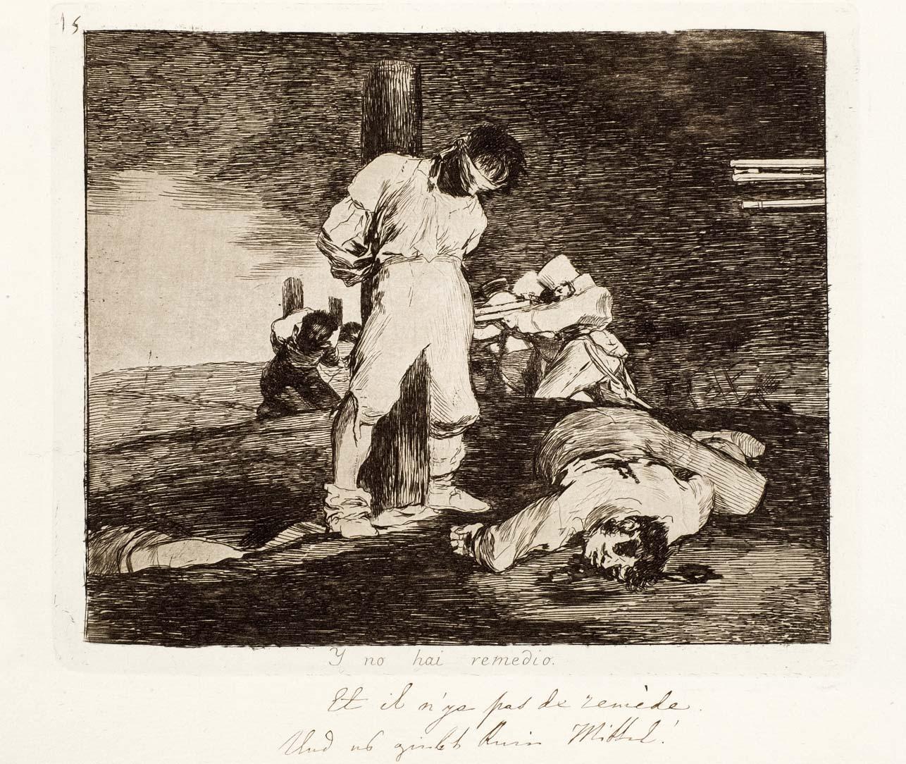 Francisco de Goya. Desastres de la guerra, 1863, primera edición. Salida: 25.000 euros