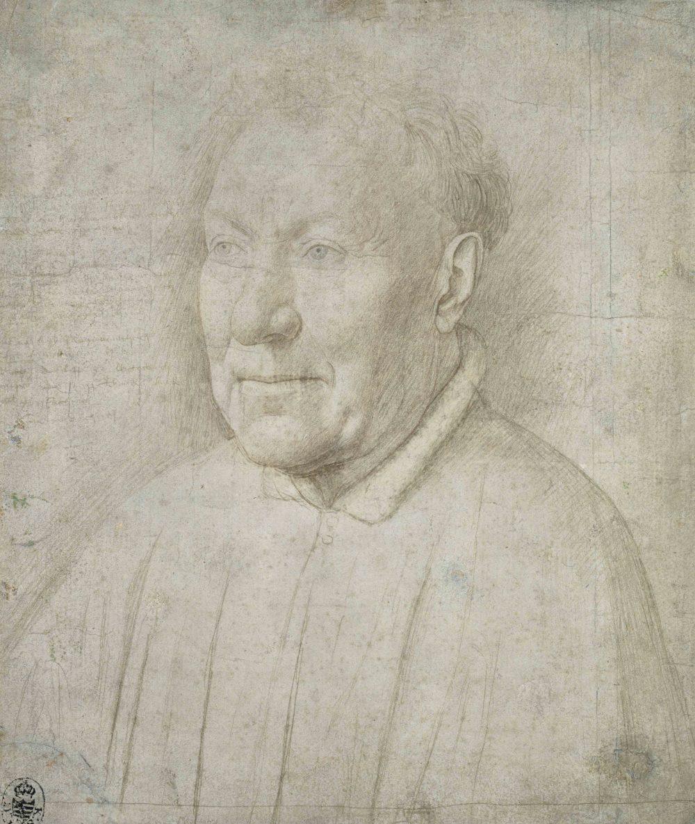 Un dibujo de Van Eyck expuesto por primera vez en 10 años