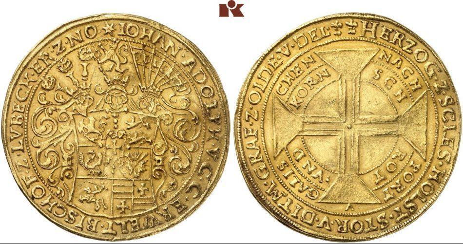10-ducados-de-juan-adolfo-de-inspiracin-portuguesa.-rematado-en-210.000.-fritzrudolfkuenker