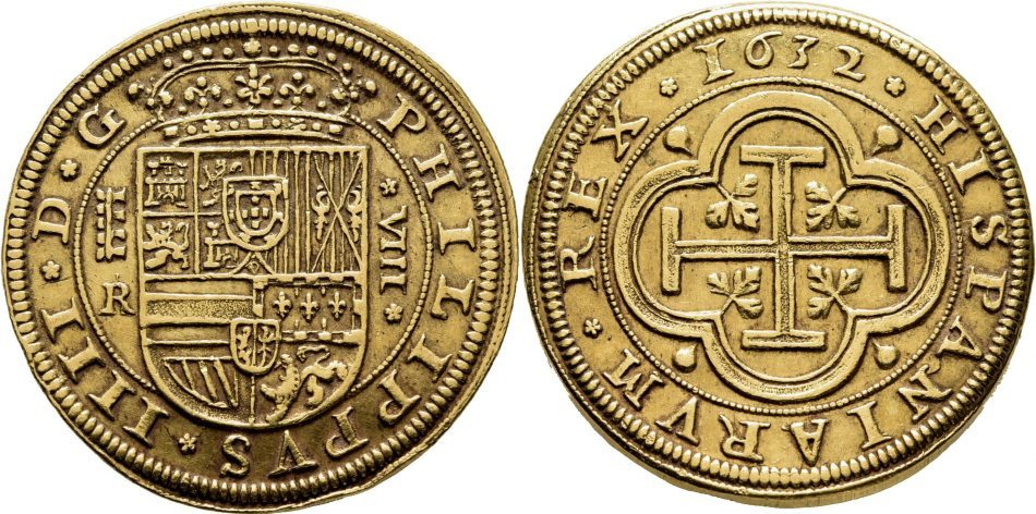 8-escudos-de-1632.-ingenio-de-segovia.-felipe-iv.-rematado-en-55.000.-cayn-subastas