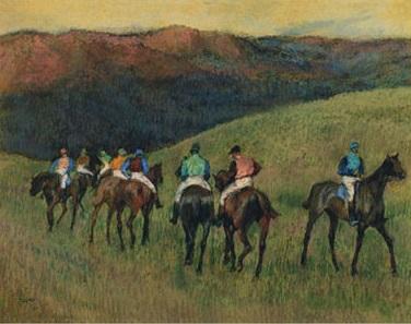 caballos-de-carreras-en-paisaje-degas