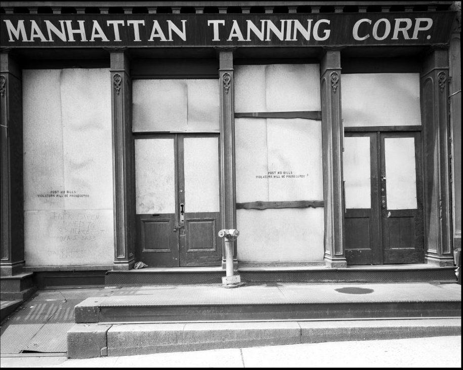 USA. New York City. 1967. 18 Spruce Street.