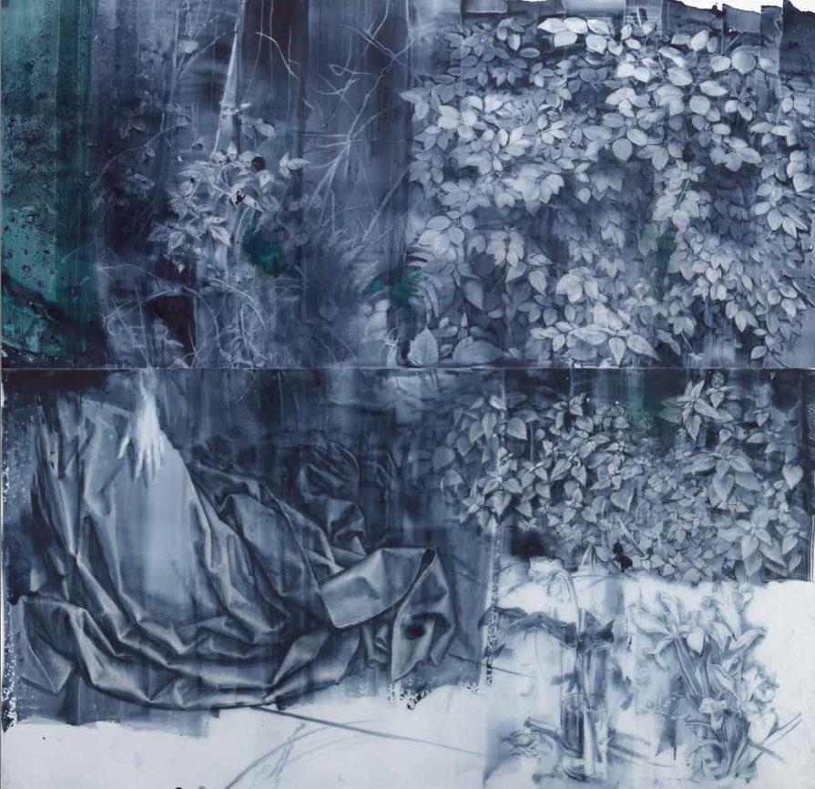 bosque-de-van-der-weyden-2019-2020-creta-y-aguada-sobre-papel-vegetal
