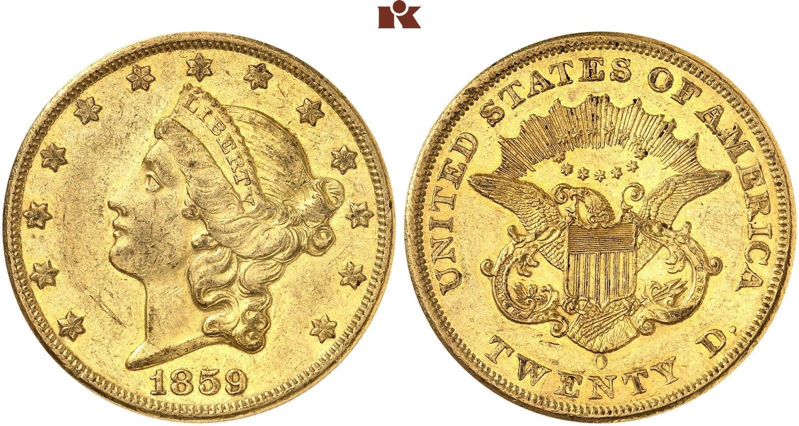 20-dlares-1859o.-rematado-en-104.550-euros.-fritz-rudolf-kuenker