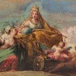 Abalarte saca a subasta seis bocetos de Maella para los Reales Sitios
