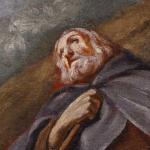 100.000 euros de salida para 'Muerte de San Antonio Abad' atribuido a Goya en Alcalá Subastas