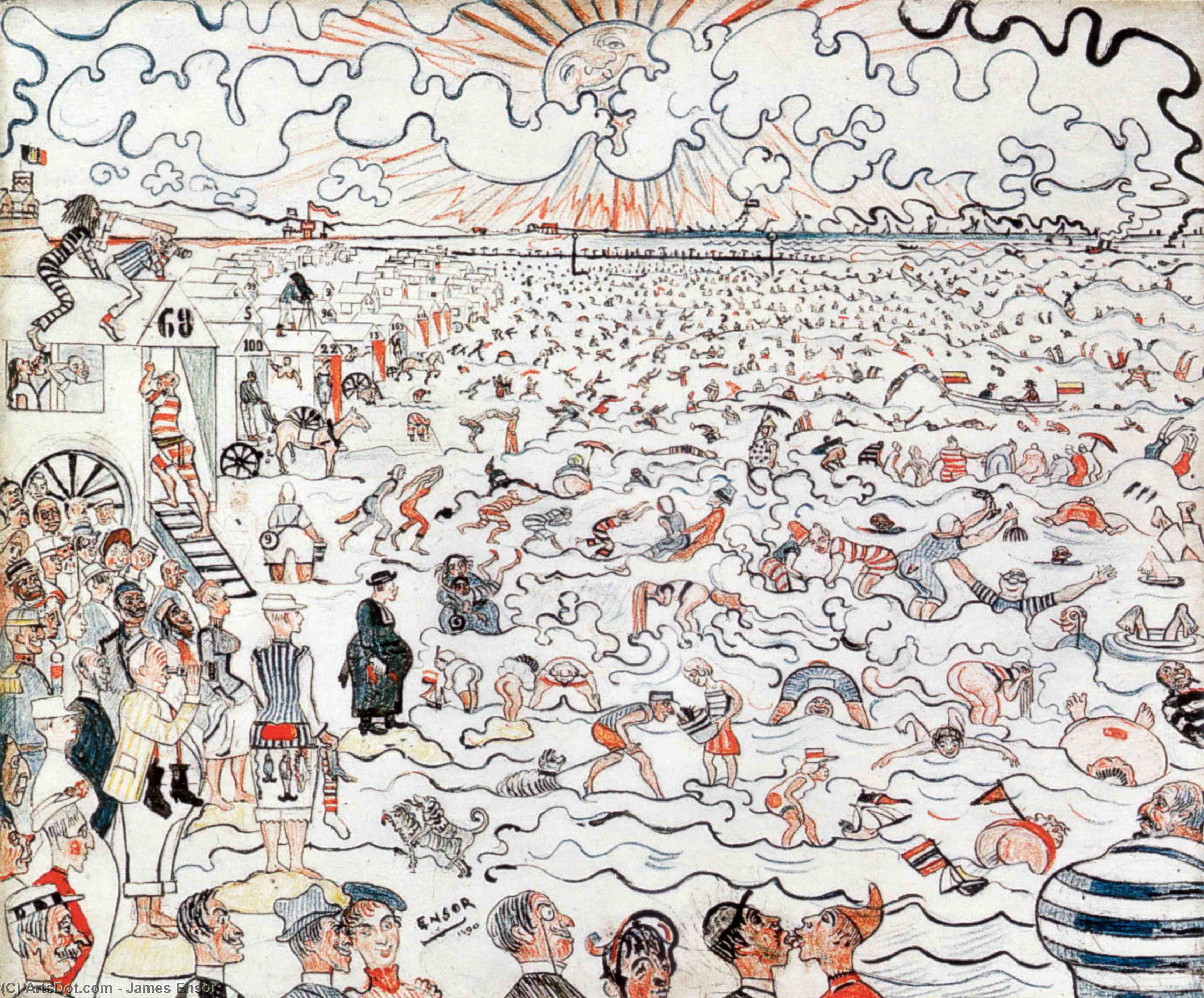 james_ensor-the_baths_at_ostend