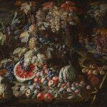 Giovanni Battista Ruoppolo. Bodegón de frutas en un paisaje. Salida: 90.000 euros. No vendido