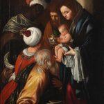 Juan Bautista Maíno. La adoración de los Magos. Remate: 212,750 GBP (236.257 euros)