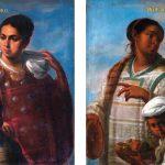 Juan Rodríguez Juárez. De lobo y de india produce lobo que es torna atrás e Indios mexicanos. Salida: 45.000 euros cada uno. Declarados inexportables, no vendidos