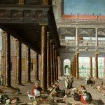 Matías Jimeno. La expulsión de los mercaderes del Templo. Salida: 36.000 euros. No vendido