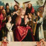 Un tapado del Maestro de Fráncfort, una tabla con una Sagrada Familia, vendida en Durán por 30.000 euros
