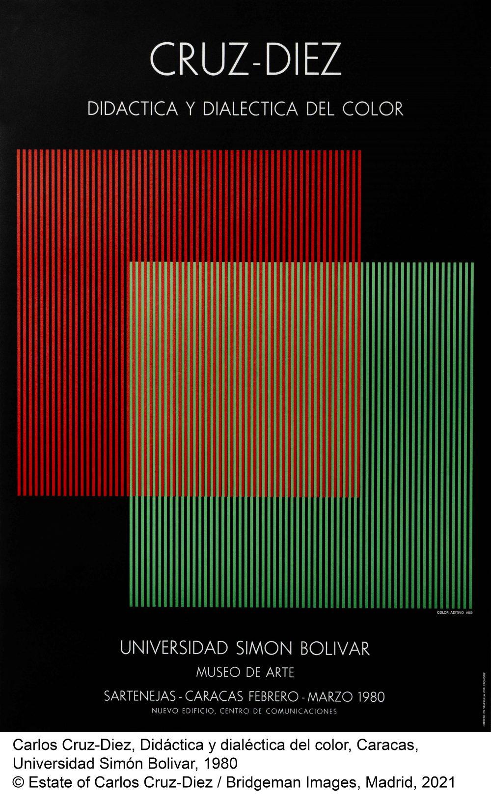Afiche Exposición Didáctica y Dialéctica Del Color