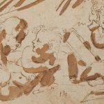 Annibale Carracci. Tres amorcillos, c. 1602. Salida y remate: 2.100 euros