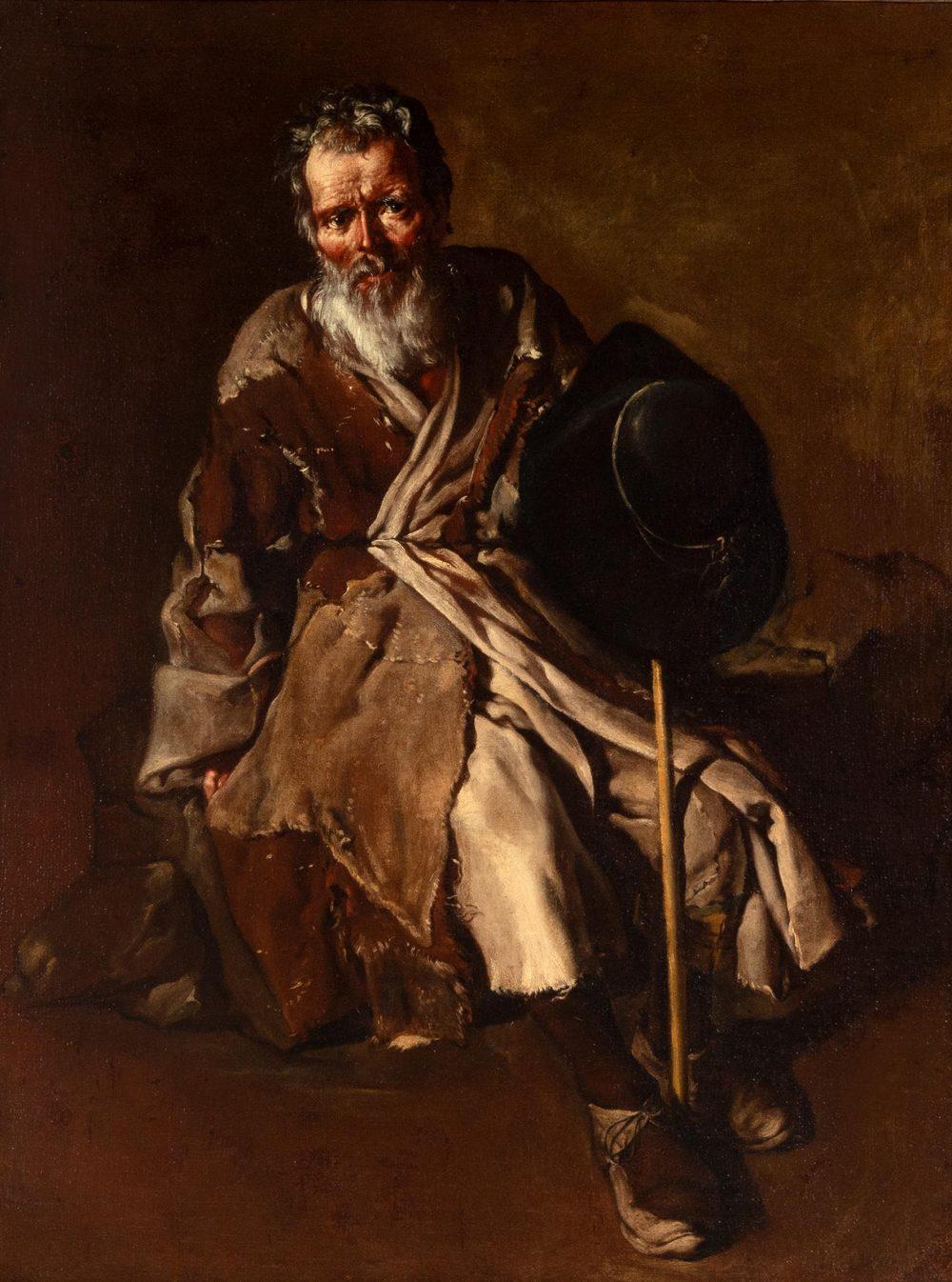 Setdart ofrece 'Viejo mendigo' de Ceruti por 150.000 euros