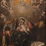 Eugenio Cajés. Sagrada Familia, 1619. Salida: 15.000 euros. Remate: 36.000 euros