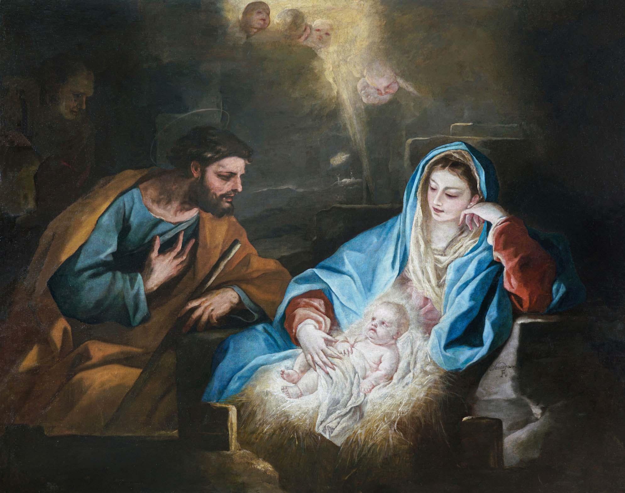 Luca Giordano. Natividad. Salida: 27.500 euros. Remate: 32.500 euros