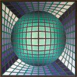Victor Vasarely. Iguen, 1981. Salida y remate: 100.000 euros