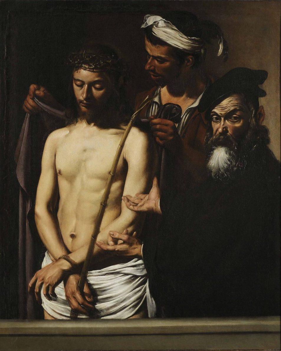 Caravaggio»Ecce Homo»Genova, Musei di strada nuova