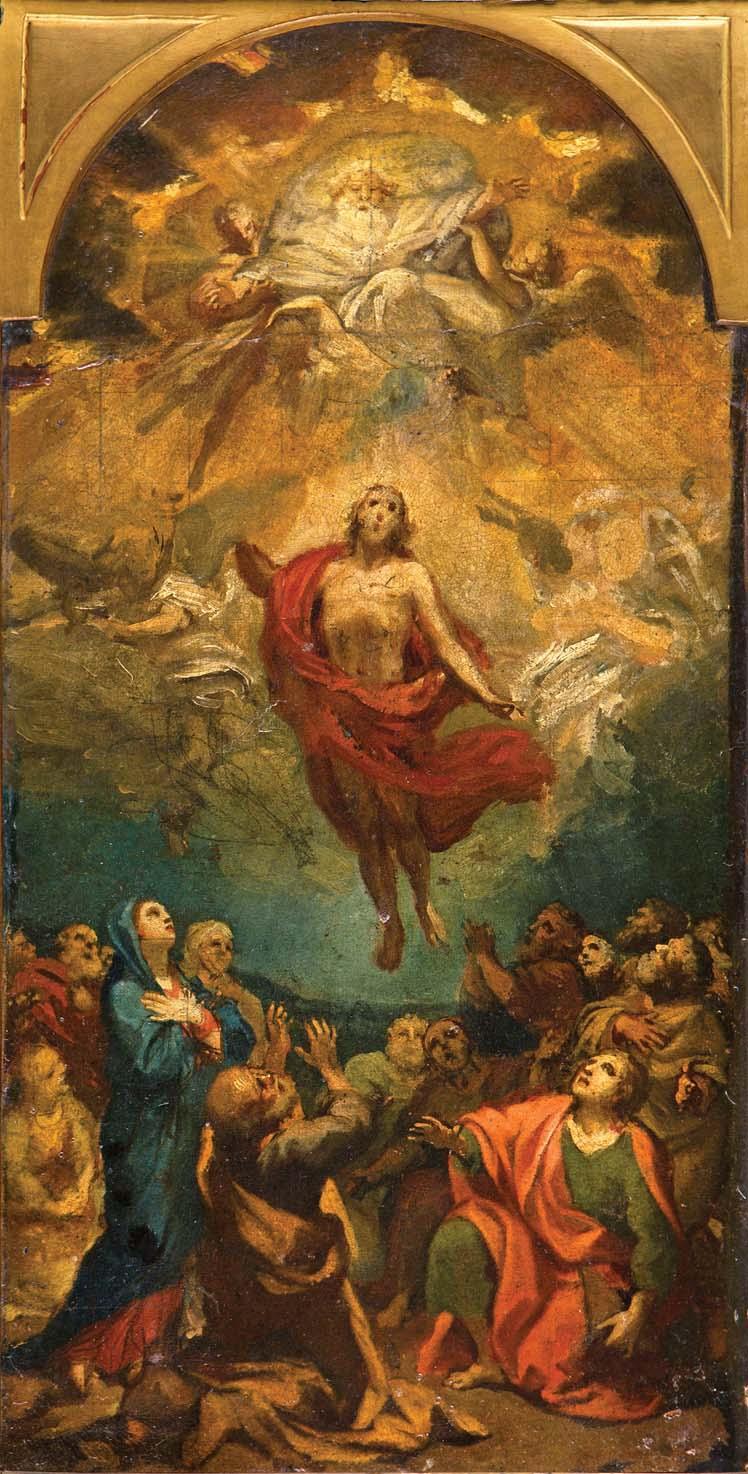 Anton Rafael Mengs. Ascensión de Cristo. Salida: 5.000 euros. Remate: 35.000 euros