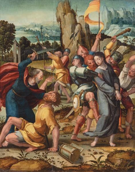 Pieter Coecke van Aelest. Prendimiento, c. 1525. Salida: 35.000 euros. No vendido
