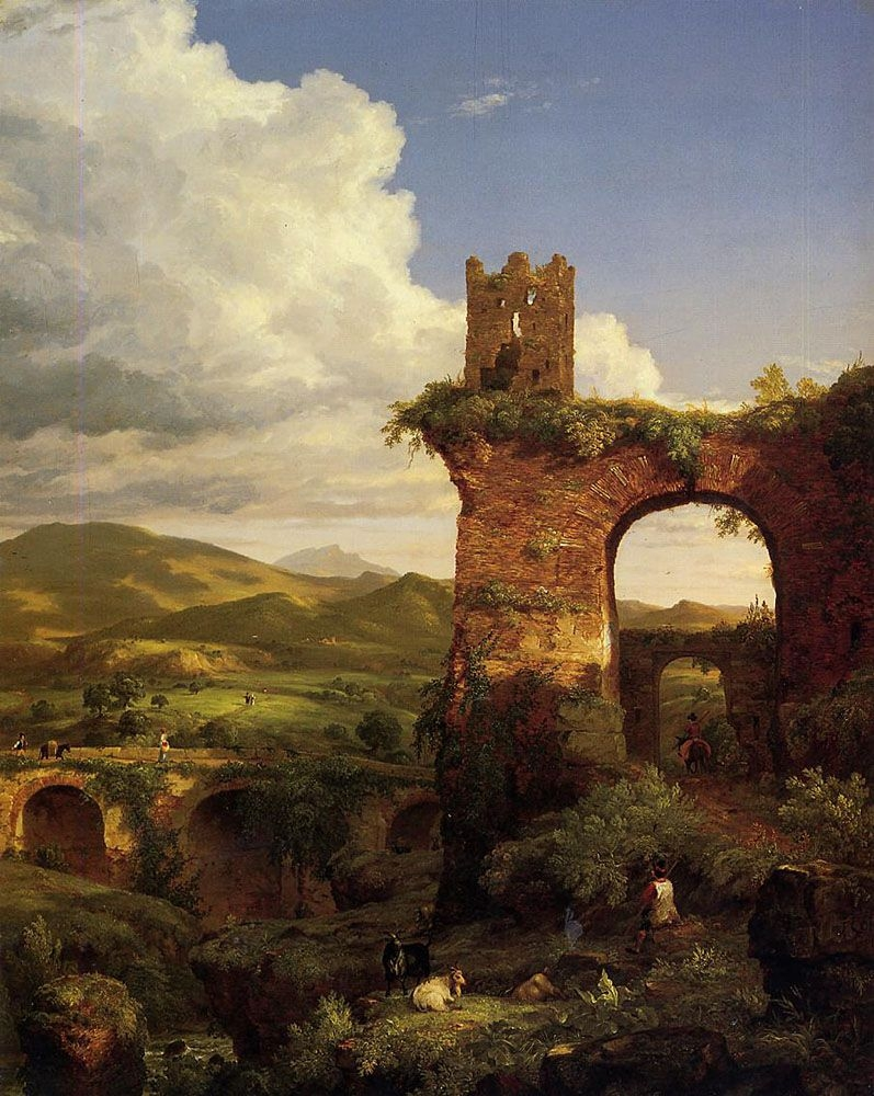 thomas-coles-the-arch-of-nero-1846-sold-by-the-newark-museum-of-art