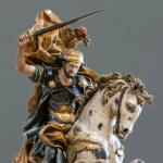 Un imponente Santiago Matamoros del XVIII destaca en Fernando Durán