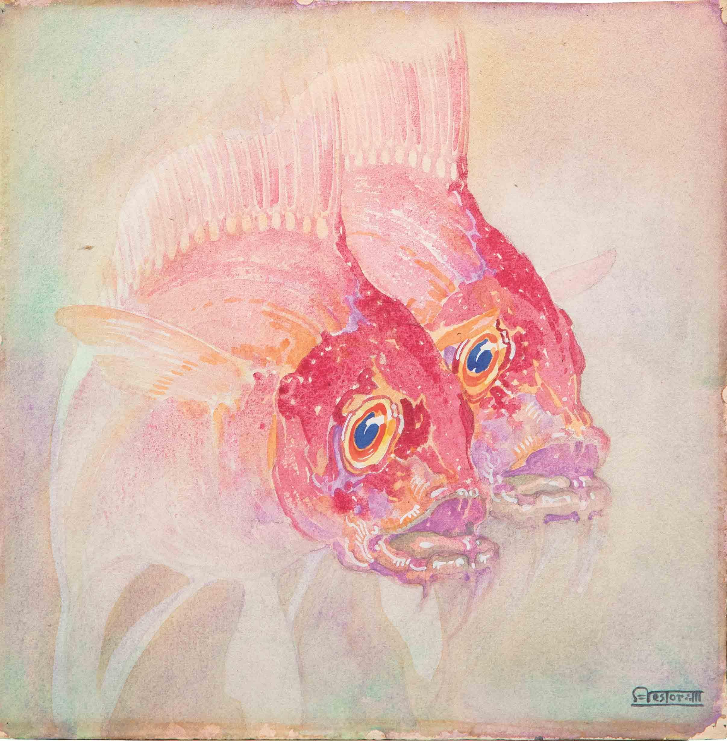 Néstor. Estudio de peces, 1927-28. Salida: 5.500 euros. Remate: 6.000 euros