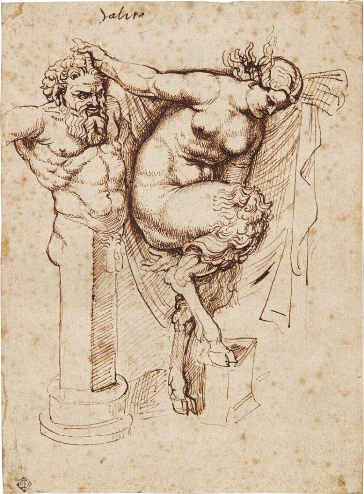 Un dibujo inédito de Rubens en Sotheby's