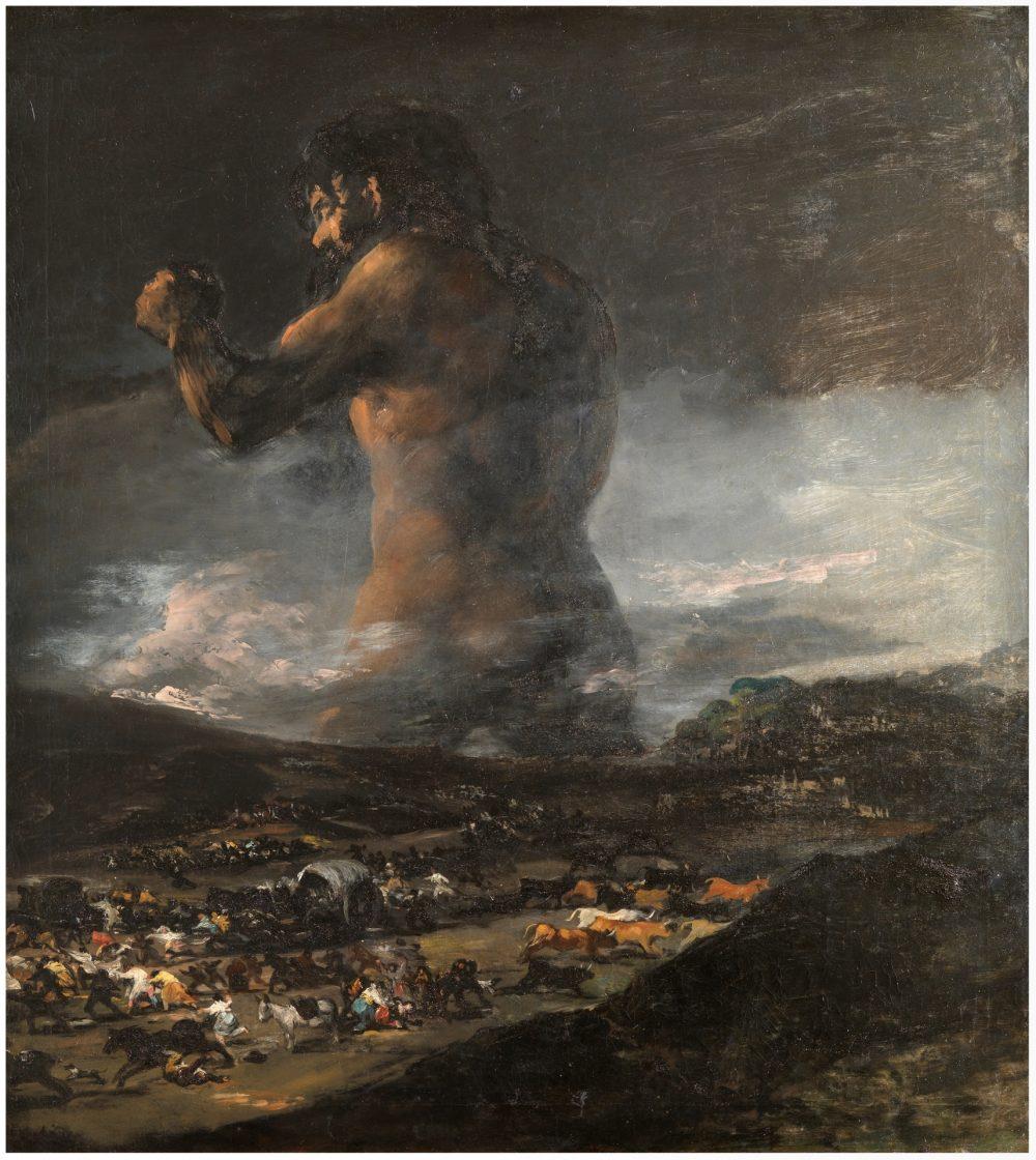 El Prado devuelve 'El Coloso' a Goya
