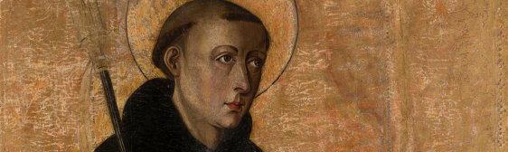 Francisco de Osona. San Benito, detalle. Salida: 16.000 euros